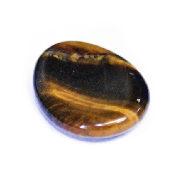 Gold Tigers Eye Worry Stone