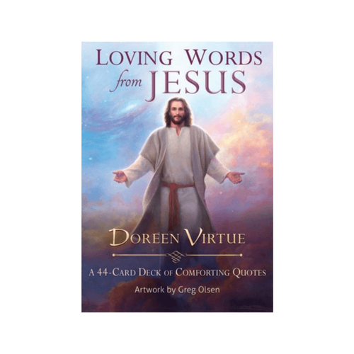Loving Words from Jesus : A 44-Card Deck of Comforting Quotes by Doreen Virtue