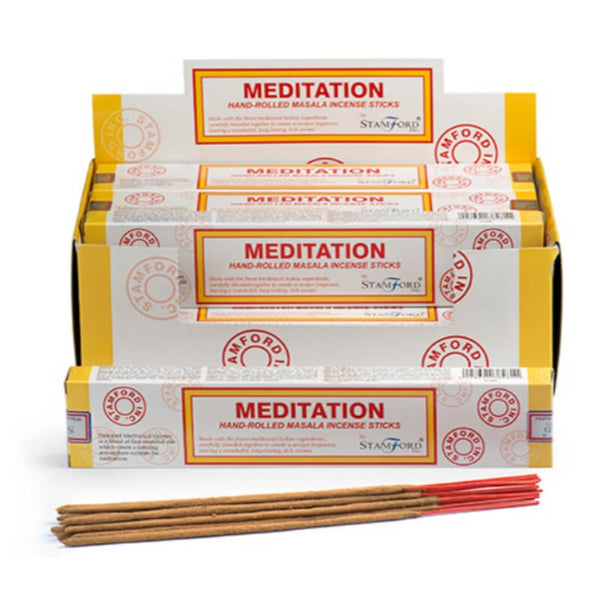 Meditation Masala - Stamford Incense Sticks