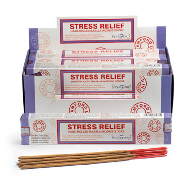 Stress Relief Masala - Stamford Incense Sticks