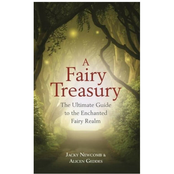 A Fairy Treasury : The Ultimate Guide to the Enchanted Fairy Realm by Jacky Newcomb