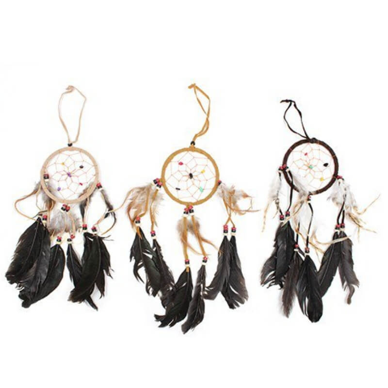 Medium Bali Dreamcatcher - Cream