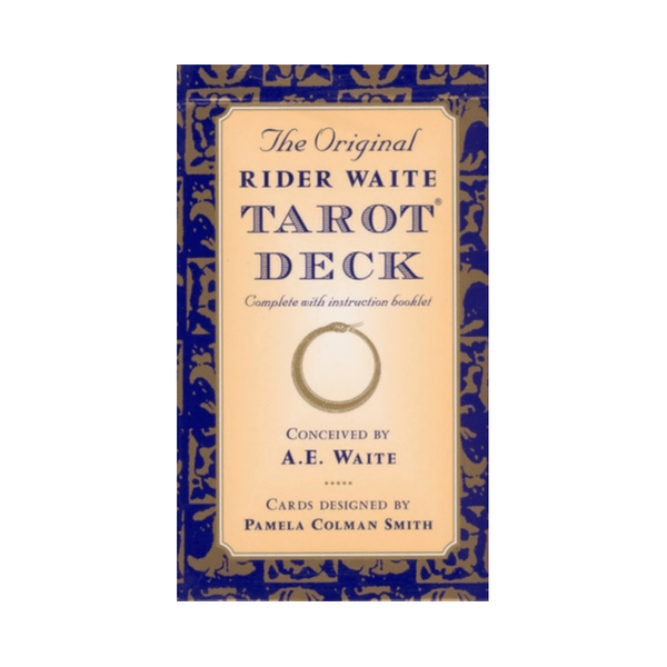 The Original Rider Waite Tarot Deck by Arthur Edward Waite