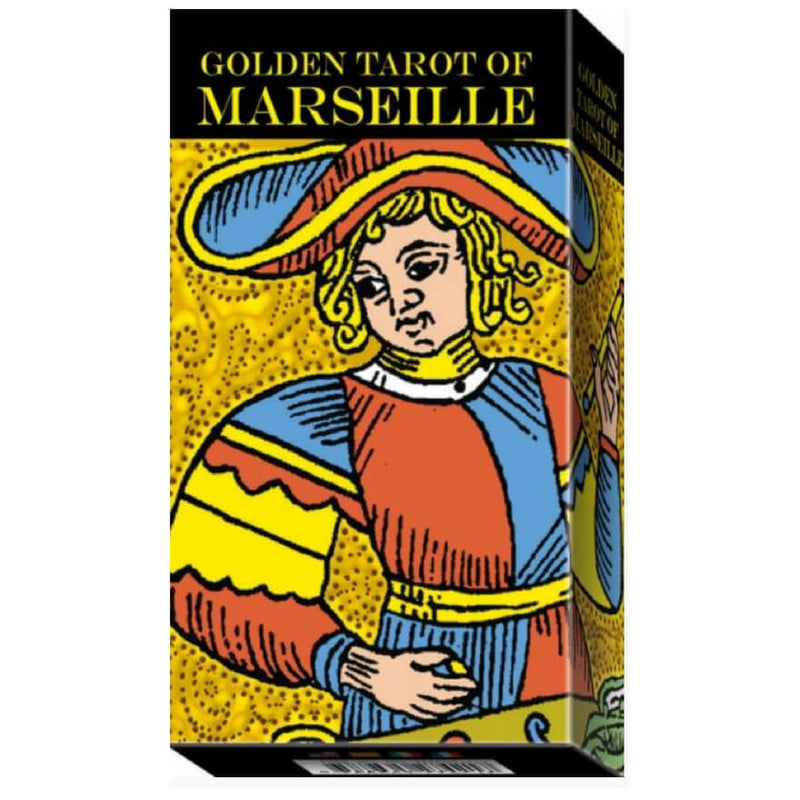 Golden Tarot of Marseille by Claude Burdel