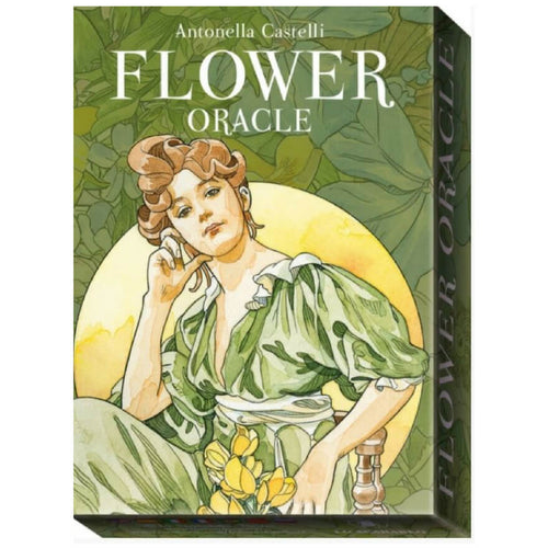 Flower Oracle Illustrated by Antonella Castelli