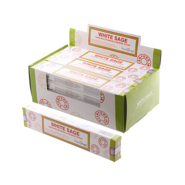 White Sage Masala - Stamford Incense Sticks