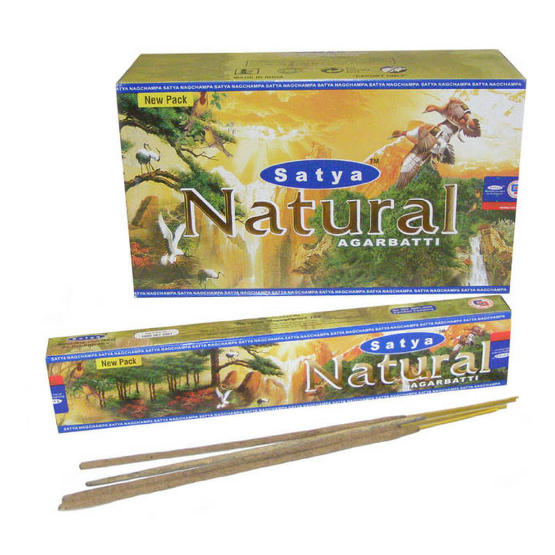 Natural Agarbatti - Satya Incense Sticks