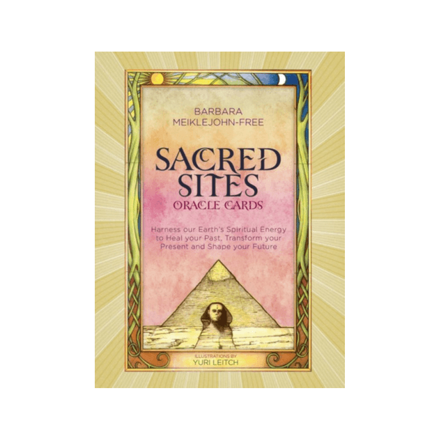 Sacred Sites Oracle Cards by Barbara Meiklejohn-Free