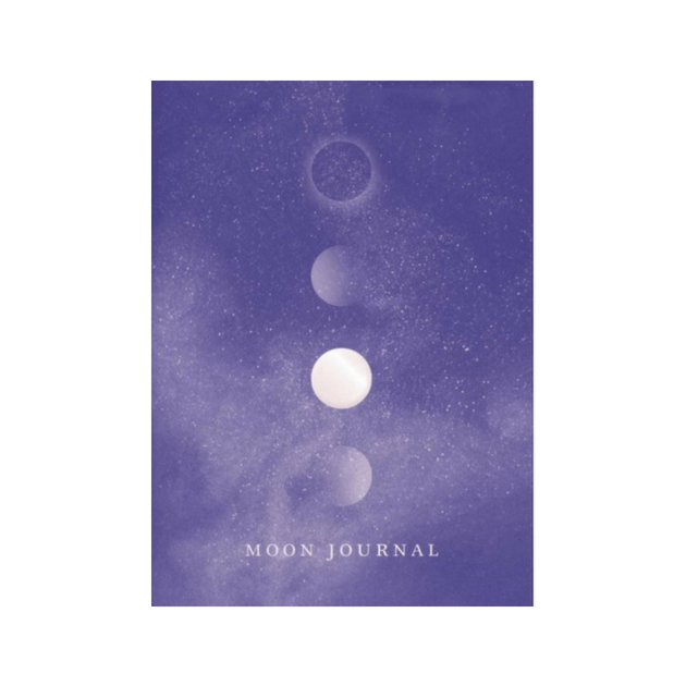 Moon Journal : Astrological guidance, affirmations, rituals and journal exercises to help you reconnect with your own internal universe by Sandy Sitron