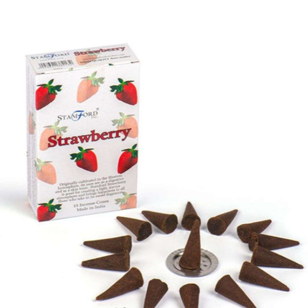 Strawberry - Stamford Incense Cones