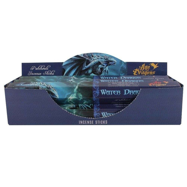 Water Dragon Incense Sticks by Anne Stokes
