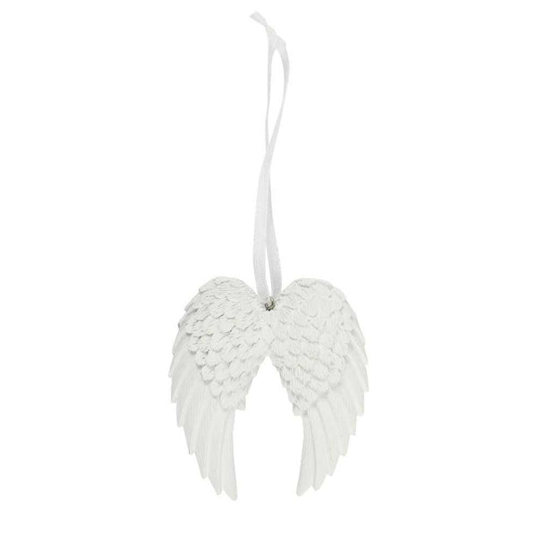 Double Angel Wings Hanging Decoration