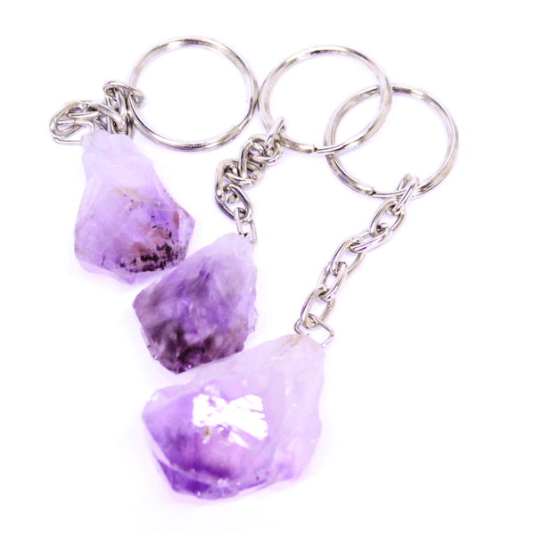 Amethyst Point Keyring