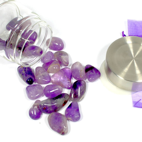 Crystal Water Bottle Pack - Amethyst for Trust and Clarity