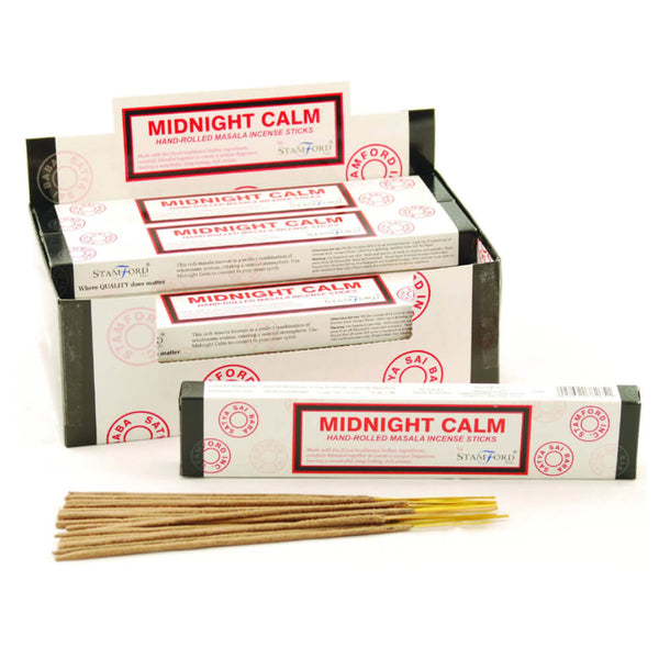 Midnight Calm Masala - Stamford Incense Sticks