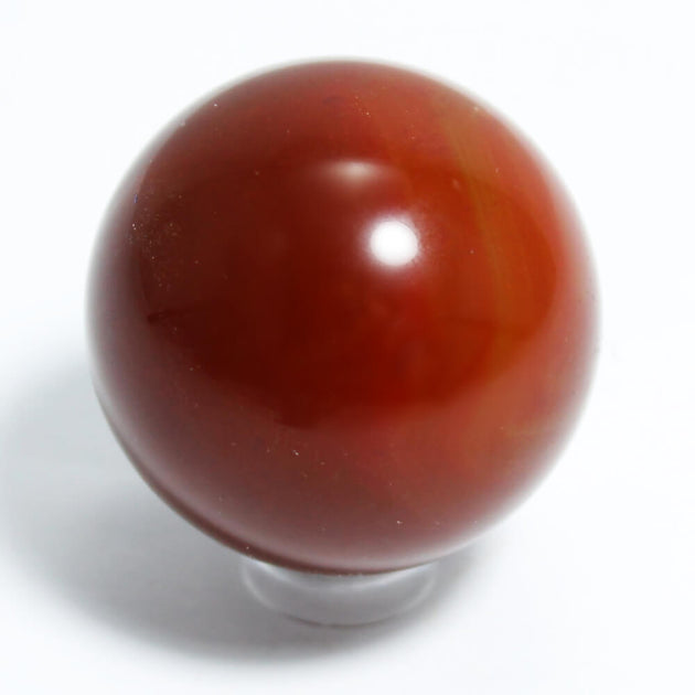 Carnelian Crystal Sphere (40mm)