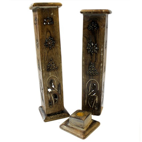 Square Design Smoke Incense Tower