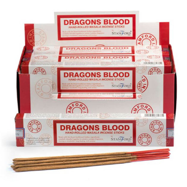 Dragons Blood Masala - Stamford Incense Sticks