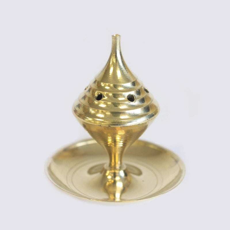 Small Brass Incense Burner