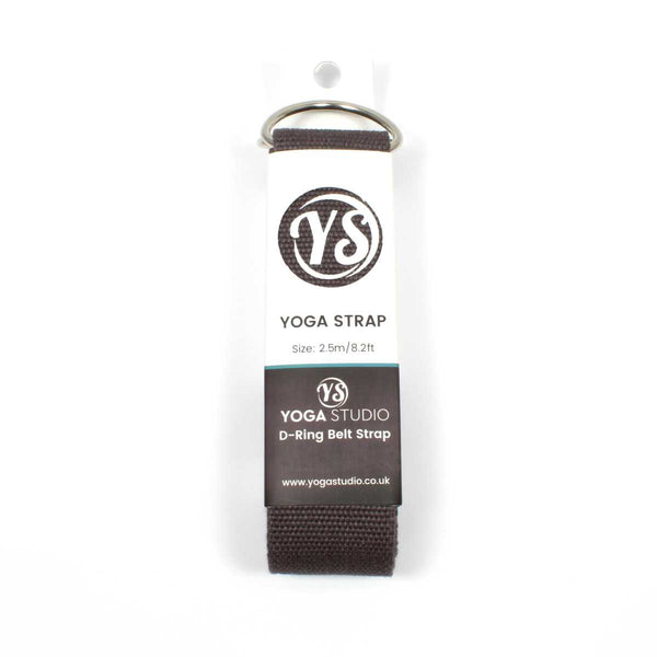 Yoga Studio D-Ring Belt Strap  - Earth