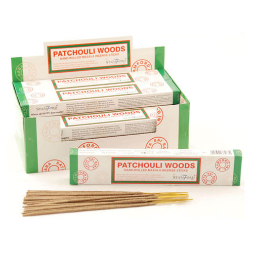 Patchouli Woods Masala - Stamford Incense Sticks