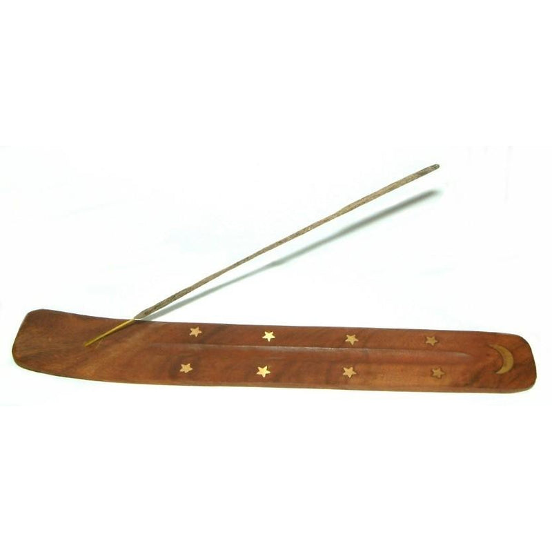 Brass Inlaid Incense Holder and Ashcatcher