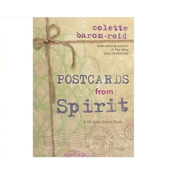 Postcards from Spirit Oracle Cards by Colette Baron-Reid
