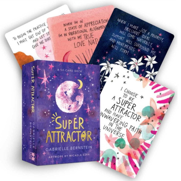 Super Attractor - A 52 Card Deck by Gabrielle Bernstein
