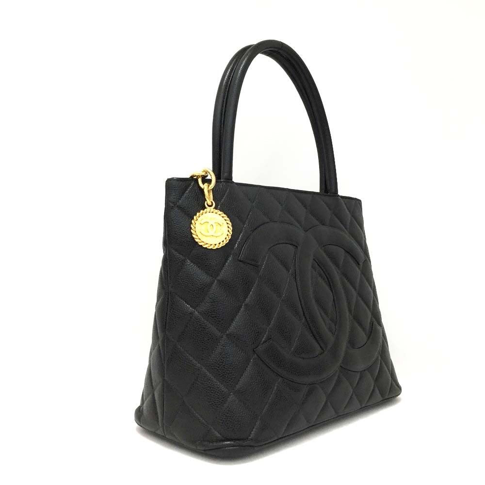 medallion photo caviar black p wallets tote bags chanel luxury ghw on