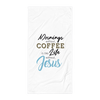 Morning Without Coffee Bath Towel