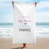 I AM A WOMEN OF CODING PURPOSE TOWEL