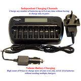 Youshiko YC800 Intelligent Battery Charger ( UK Version ) for 8 x AA / AAA NiMH batteries