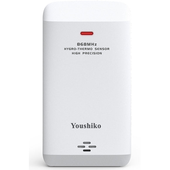 Youshiko YC80 Wireless Temperature & Humidity 7 - Channel Sensor for Weather Stations