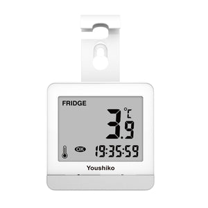 YC9020 Fridge & Freezer thermometer with Easy to Read LCD Display, Max / Min Function