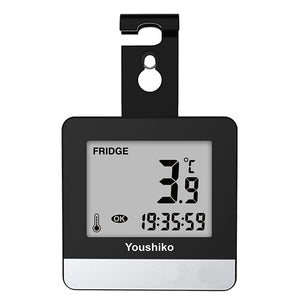 YC9021 Fridge & Freezer thermometer with Easy to Read LCD Display, Max / Min Function