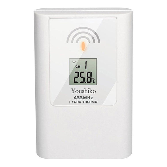 Youshiko YC9311 Wireless Temperature & Humidity 3 - Channel Sensor