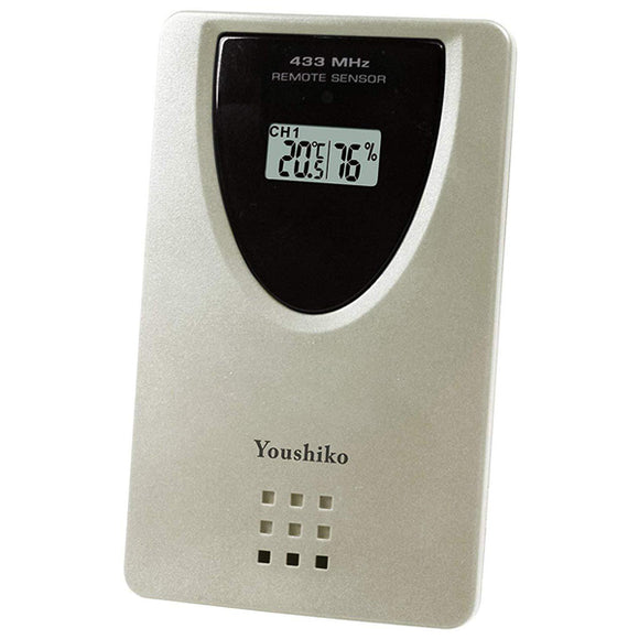 Youshiko YC9316 Wireless Temperature & Humidity