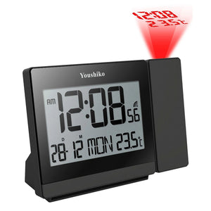 Radio Control Projection Clock ( Premium Quality / Clear Display / Official UK Version )