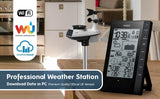 Youshiko YC9388 Weather station  ( Official UK Version), Download data in to PC , Professional 6-in-1 sensor ( PREMIUM QUALITY )