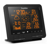 Weather Station with Colour Changing Display , Radio Control Clock & 5-in-1 Wireless Sensor ( Wind speed & direction, Rainfall, Temperature & Humidity )
