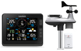 Weather Station (Premium Quality/Official UK Version) WiFi Internet Wunderground & Weathercloud, Professional 7-in-1 Wireless Sensor, Wind speed & direction Rainfall Temperature Humidity UV & sunburn