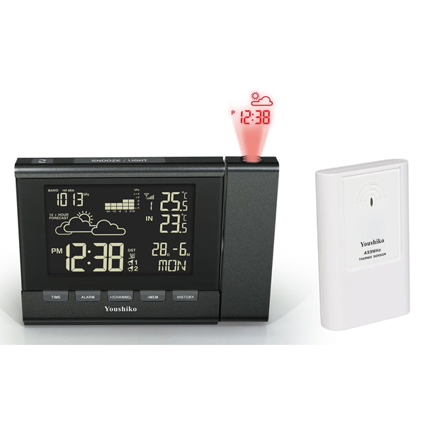 Youshiko Weather Station Premium Quality Lcd Hd