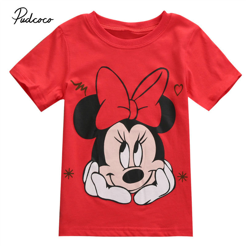 999c1066 ... Mickey Minnie Mouse Cartoon T-shirt - Bealivo ...