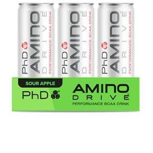 PhD Nutrition Amino Drive Can 12 x 330ml - NutriVault