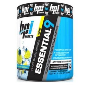 BPI Sports Essential 9 Plant Based Aminos - 30 Servings - NutriVault