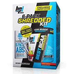BPI Sports Best BCAA Shredded 300g - Free Body Fat Calculation Kit - NutriVault
