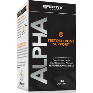 Alpha Testosterone Support x 120 caps - NutriVault