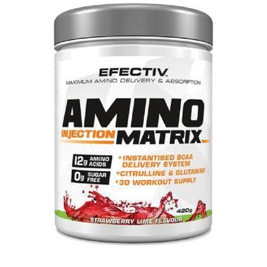 Efectiv Sports Amino Injection Matrix - AIM - 30 Servings - NutriVault
