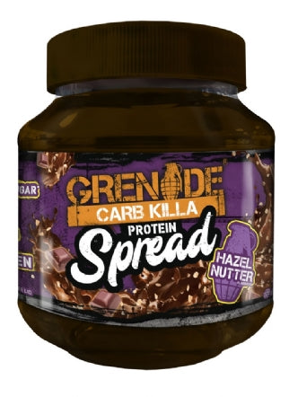 Grenade Carb Killa - Bar in a Jar Spread - 360g - Vegetarian Friendly - NutriVault