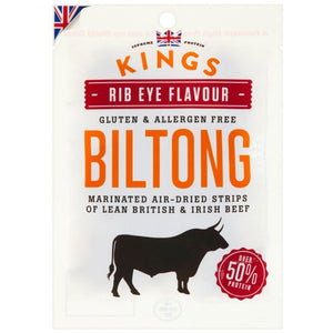 Kings Elite Snacks Biltong 1 x 30g pack - NutriVault
